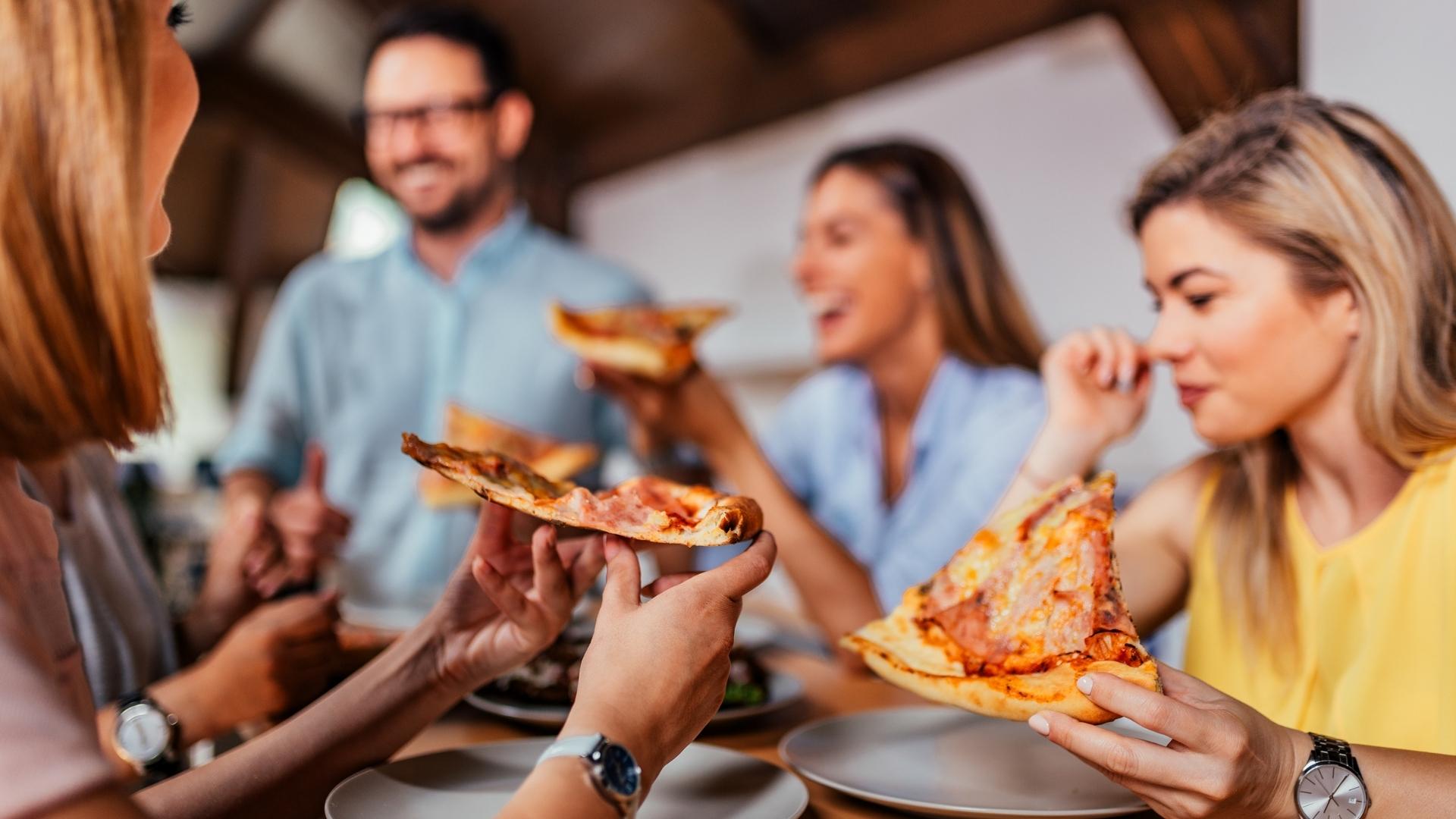 E tudo acaba em pizza