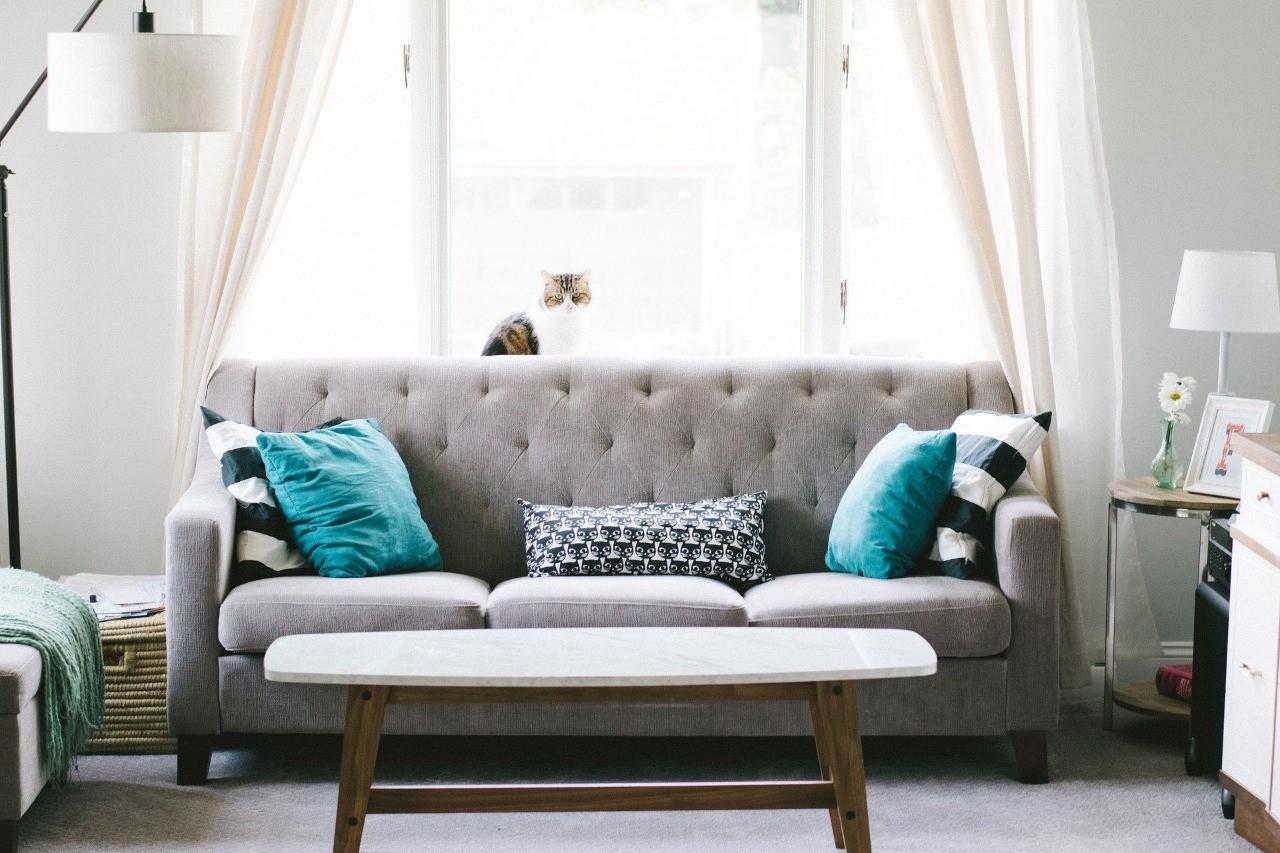 Como harmonizar as cores das paredes e objetos na sala de estar