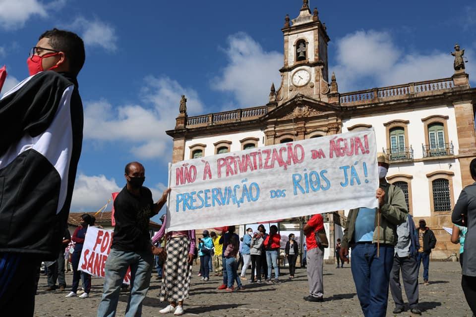 Foto: Facebook/Comitê Sanitário de Defesa Popular de Ouro Preto e Mariana
