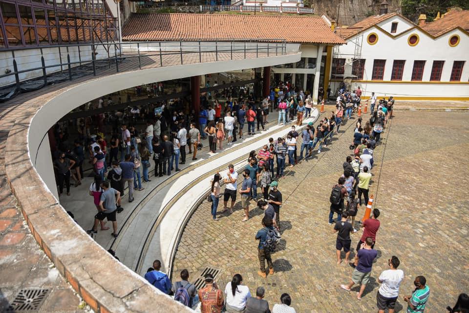 Covid: mais da metade da população de Ouro Preto está completamente imunizada