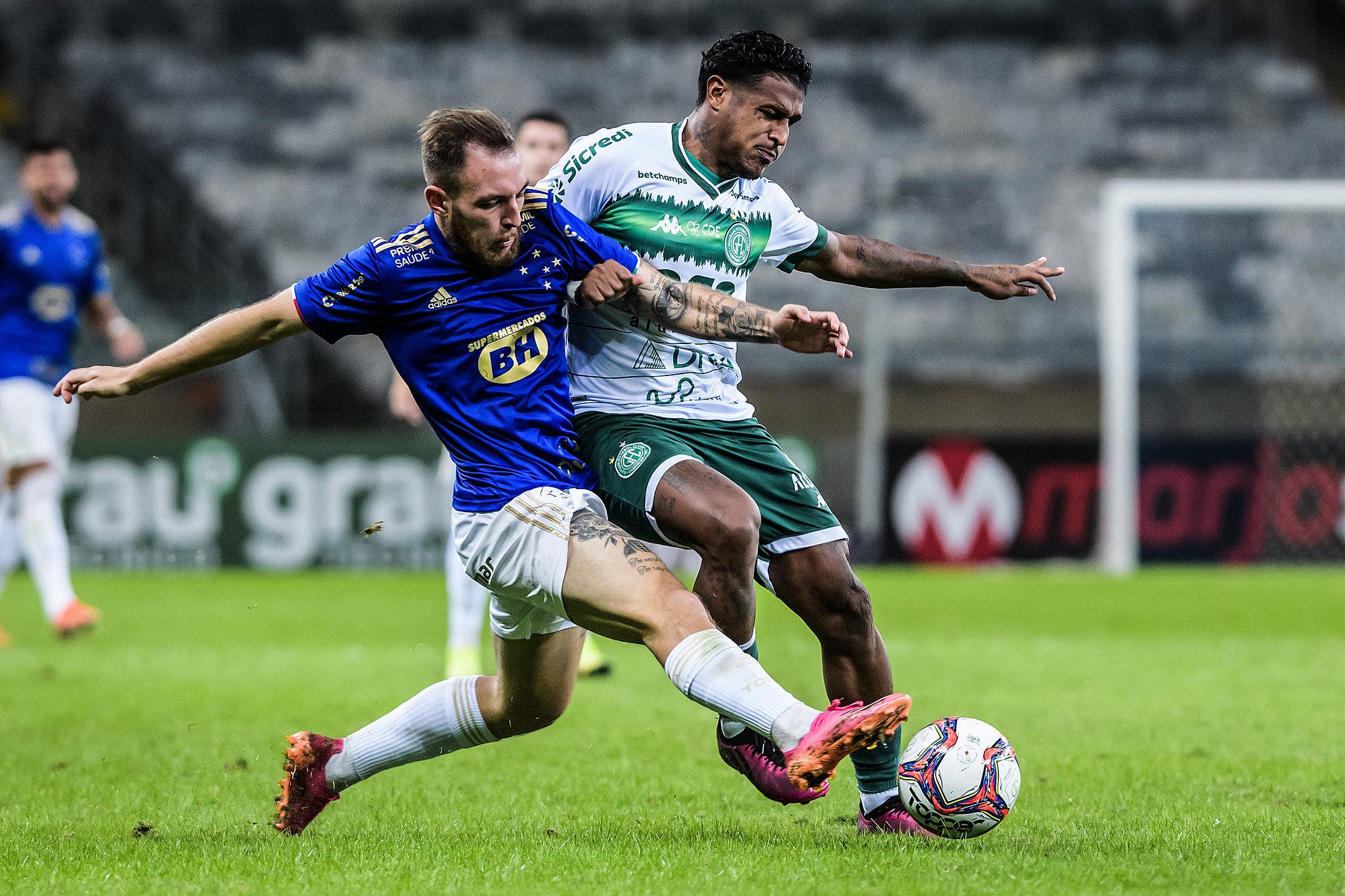 Cruzeiro visita o Guarani pensando em se afastar do Z-4 da Série B