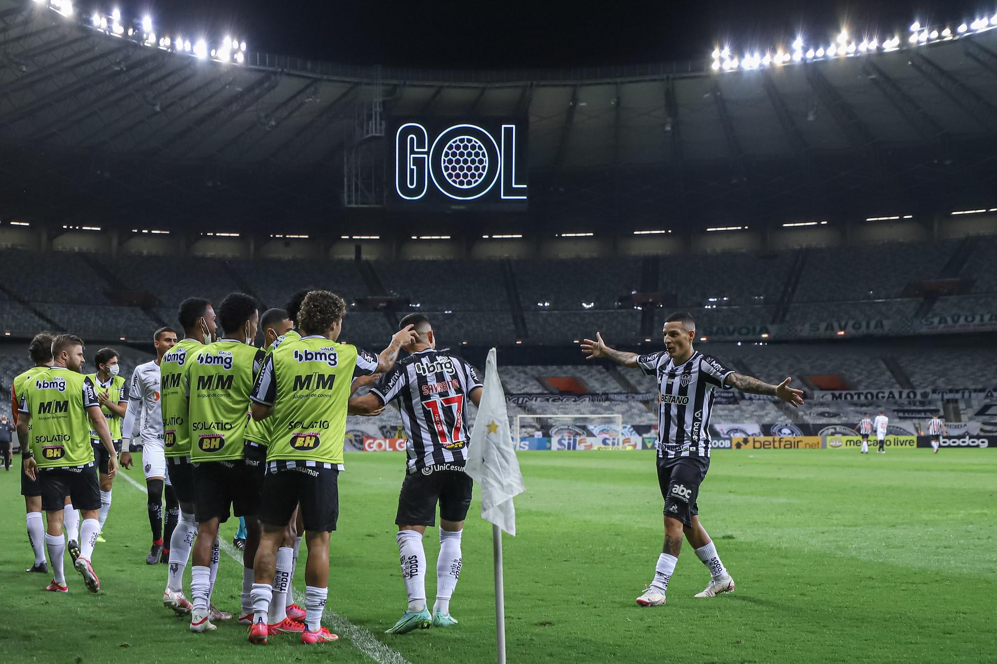 Melhor mandante do Brasileirão, Atlético terá mais jogos em casa que os concorrentes ao título