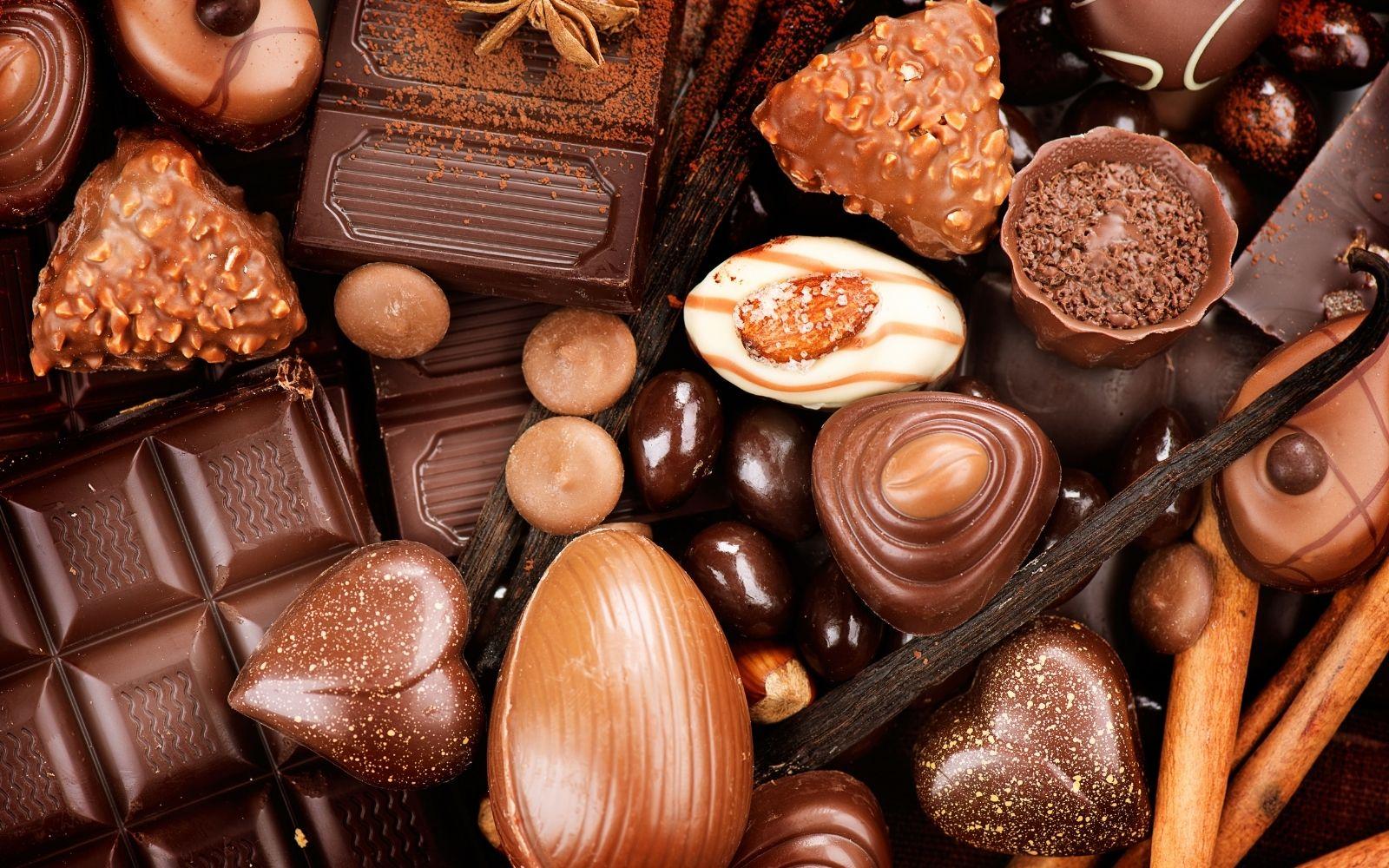 Apaixão mundialé feita de chocolate