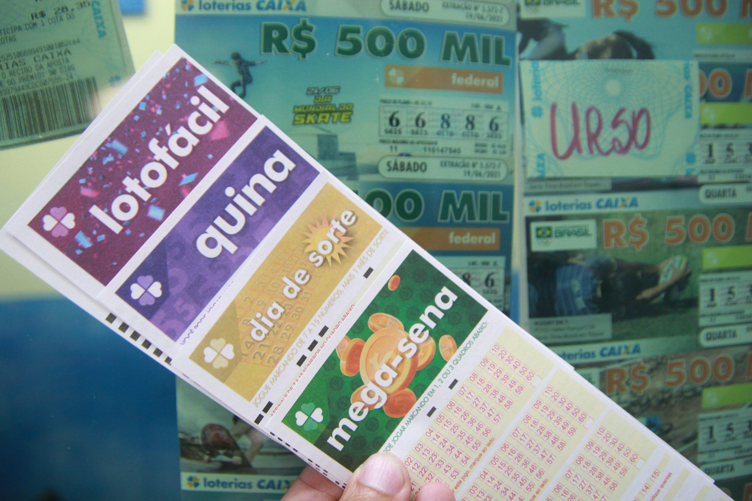 Loterias: confira o resultado da Mega-Sena 2412, Lotofácil 2332 e demais loterias de sábado (25/9)