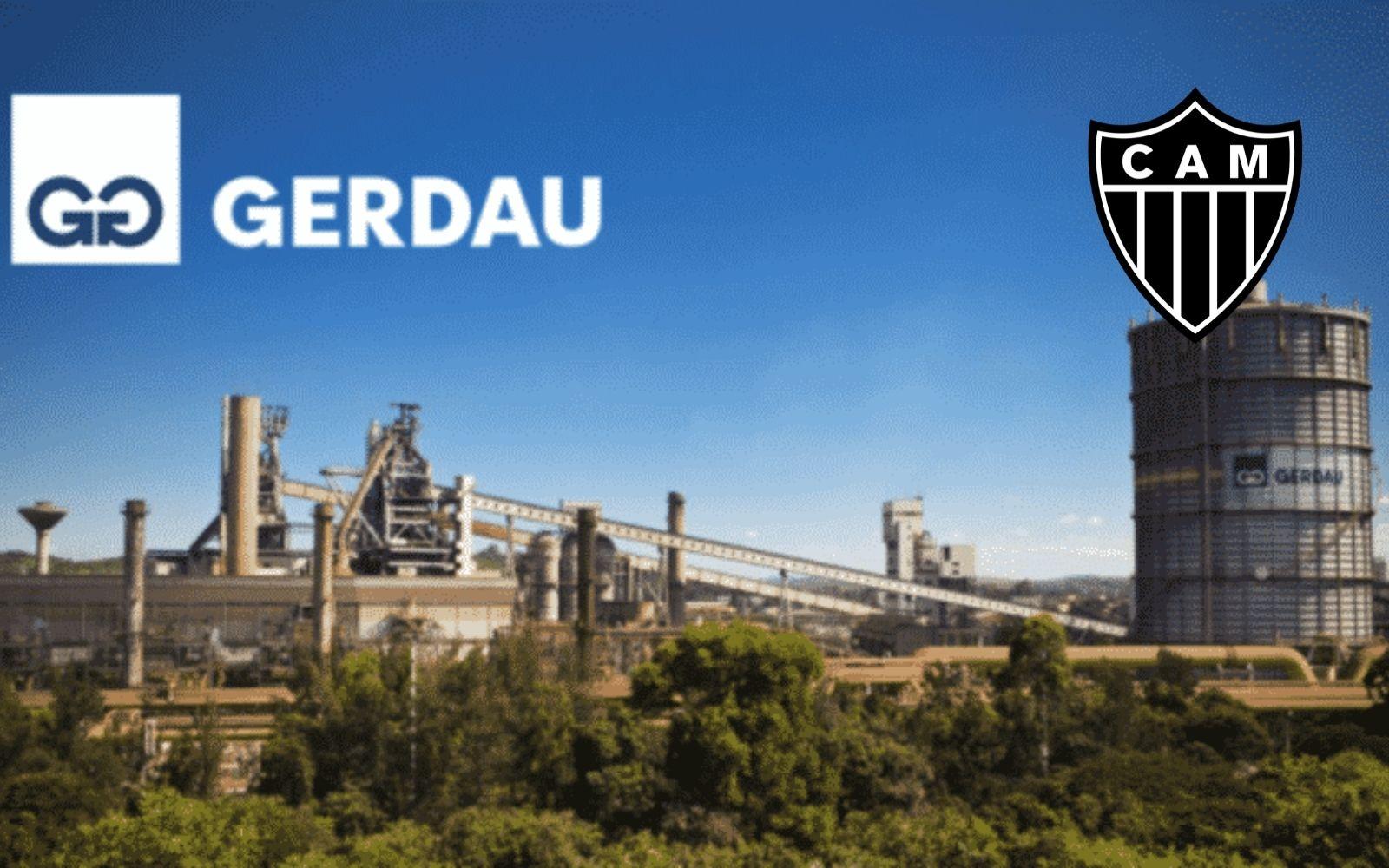 Gerdau é a nova patrocinadora do Atlético