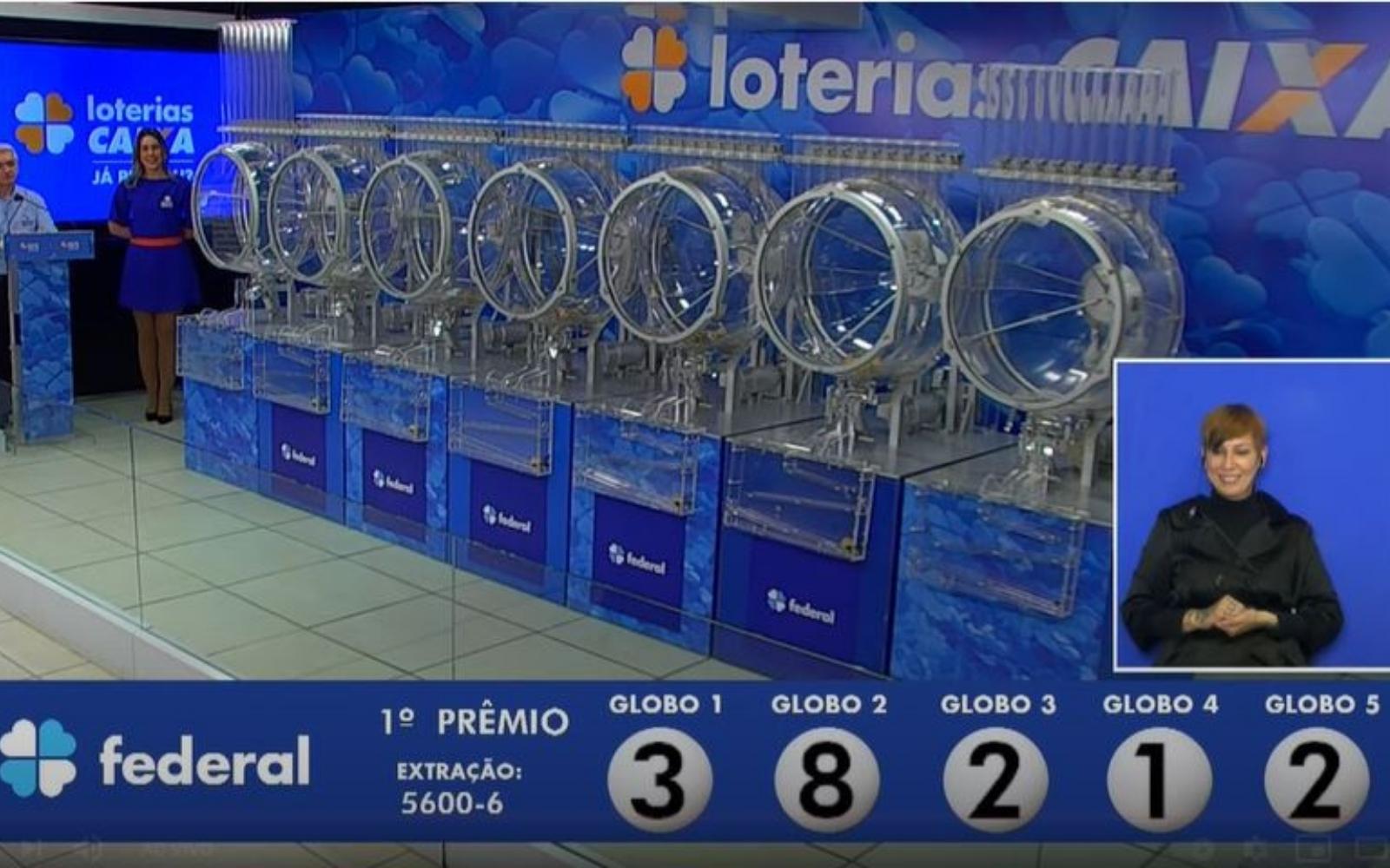 Loteria Federal, concurso 5.600