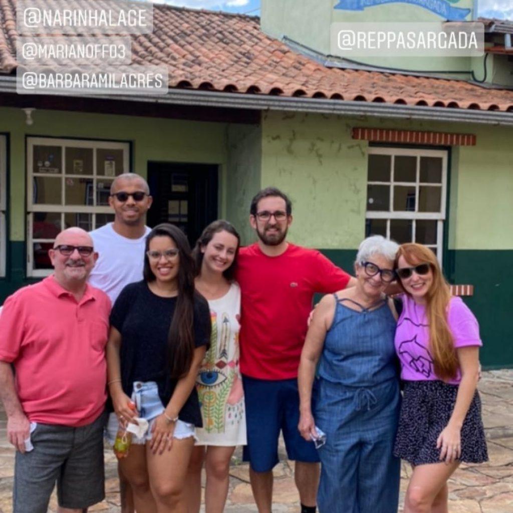 Atlético: Cuca, Jair e Mariana aproveitam folga em Ouro Preto; veja