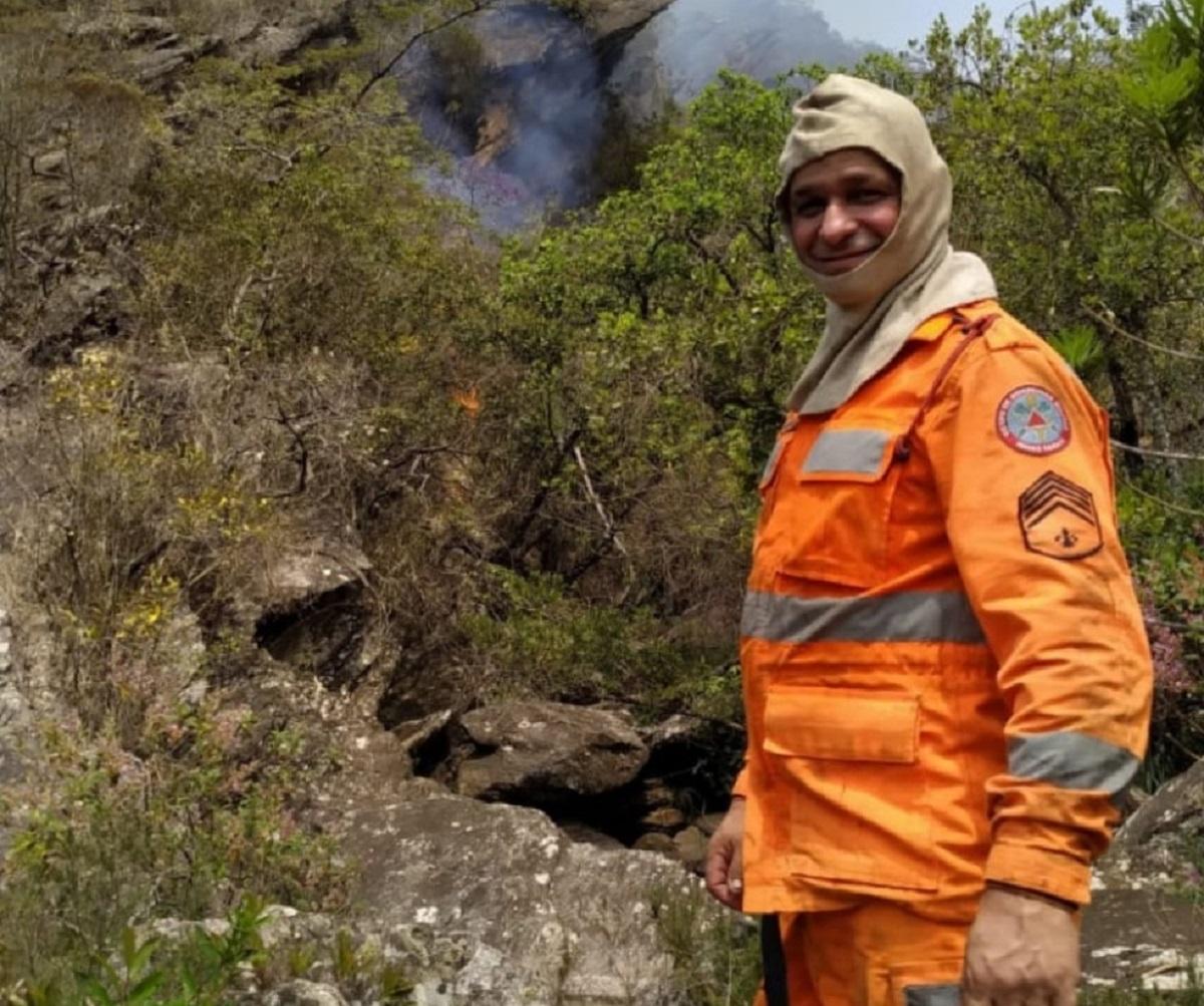 Sargento dos Bombeiros lotado em Congonhas morre ao combater incêndio