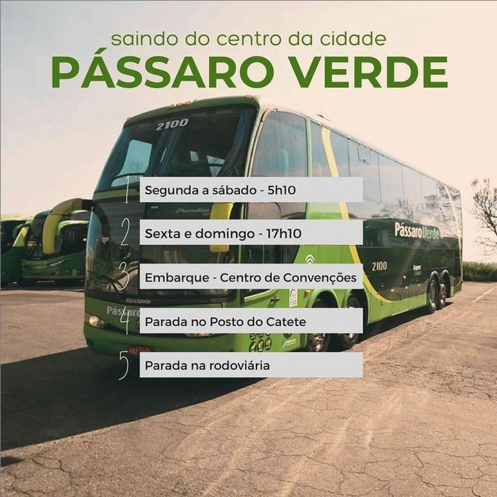 Mariana: Linha de ônibus para Belo Horizonte partirá do centro da cidade