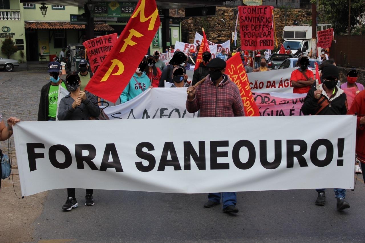 Manifestação para entrega do relatório da CPI da Saneouro acontece nesta quinta-feira