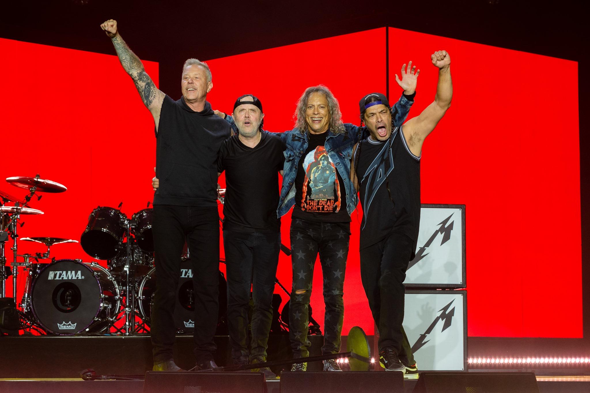 Metallica remarca shows em BH e outras três cidades para maio de 2022