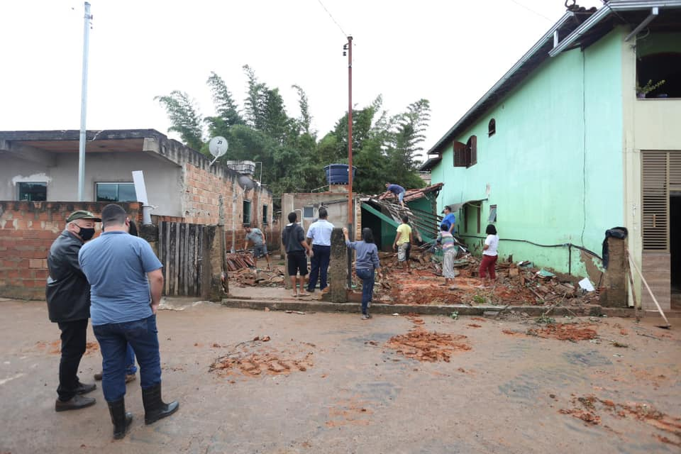 Número de atingidos pela chuva em Ouro Preto chega a 519 pessoas