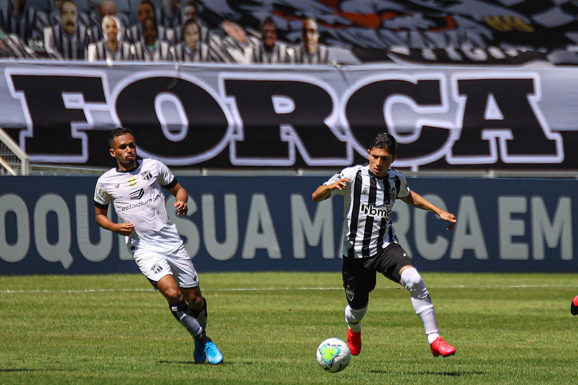 Tabu! Atlético não perde para o Ceará em casa desde 2010