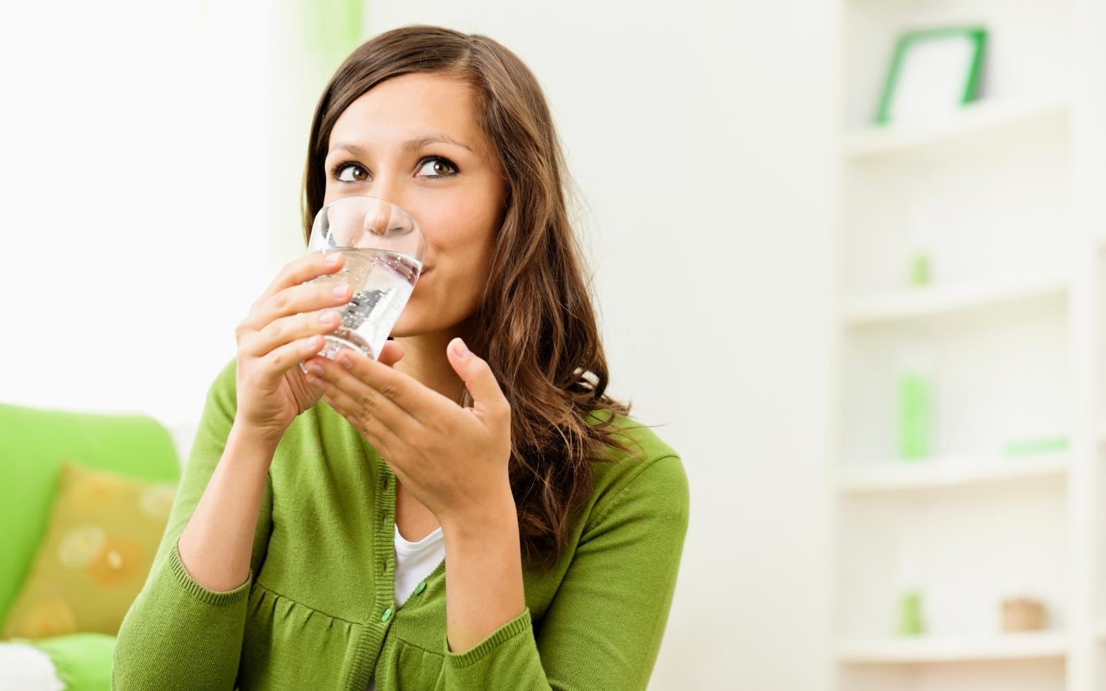 Você acha que existe hora certa para beber água?