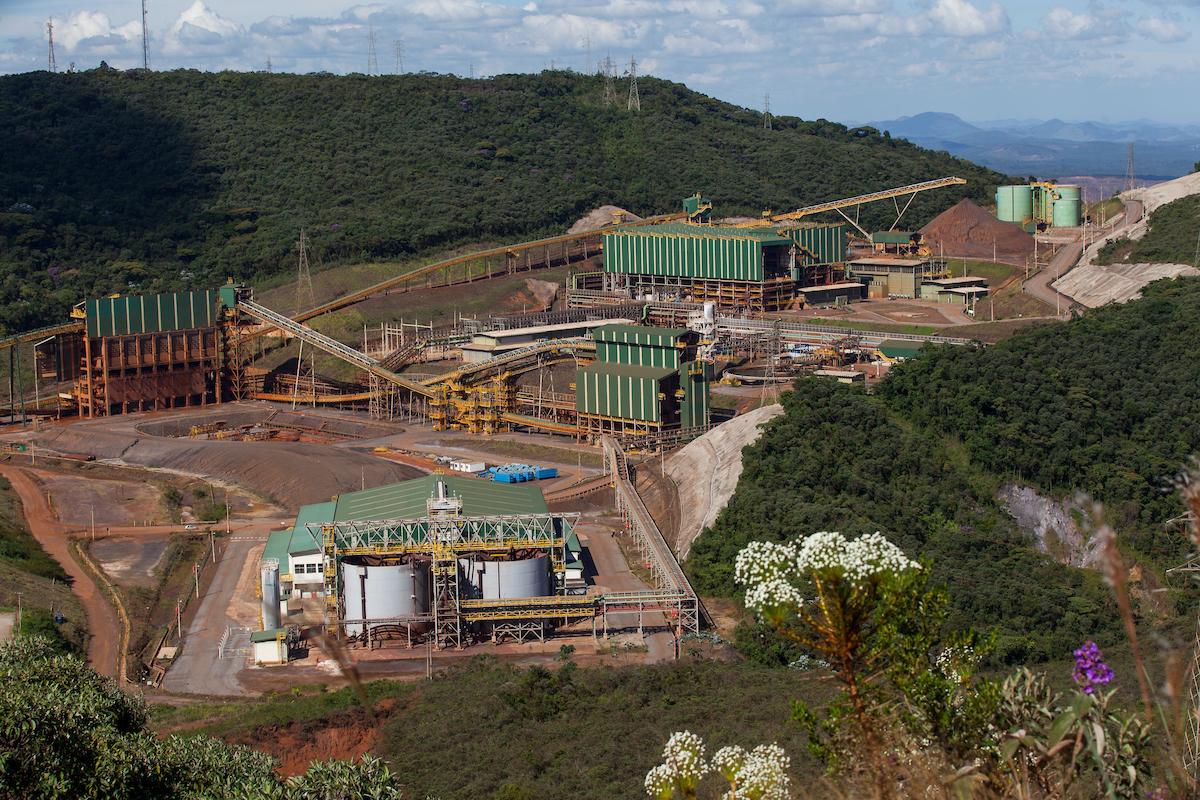 Complexo Germano - Foto: Alexandre Mota  / NITRO                                                                                                                                                                                                                                                          Samarco  Situacao das barragens da mina de Germano. Usina                                                                                                                                                                                                                        Foto: Alexandre Mota  / NITRO