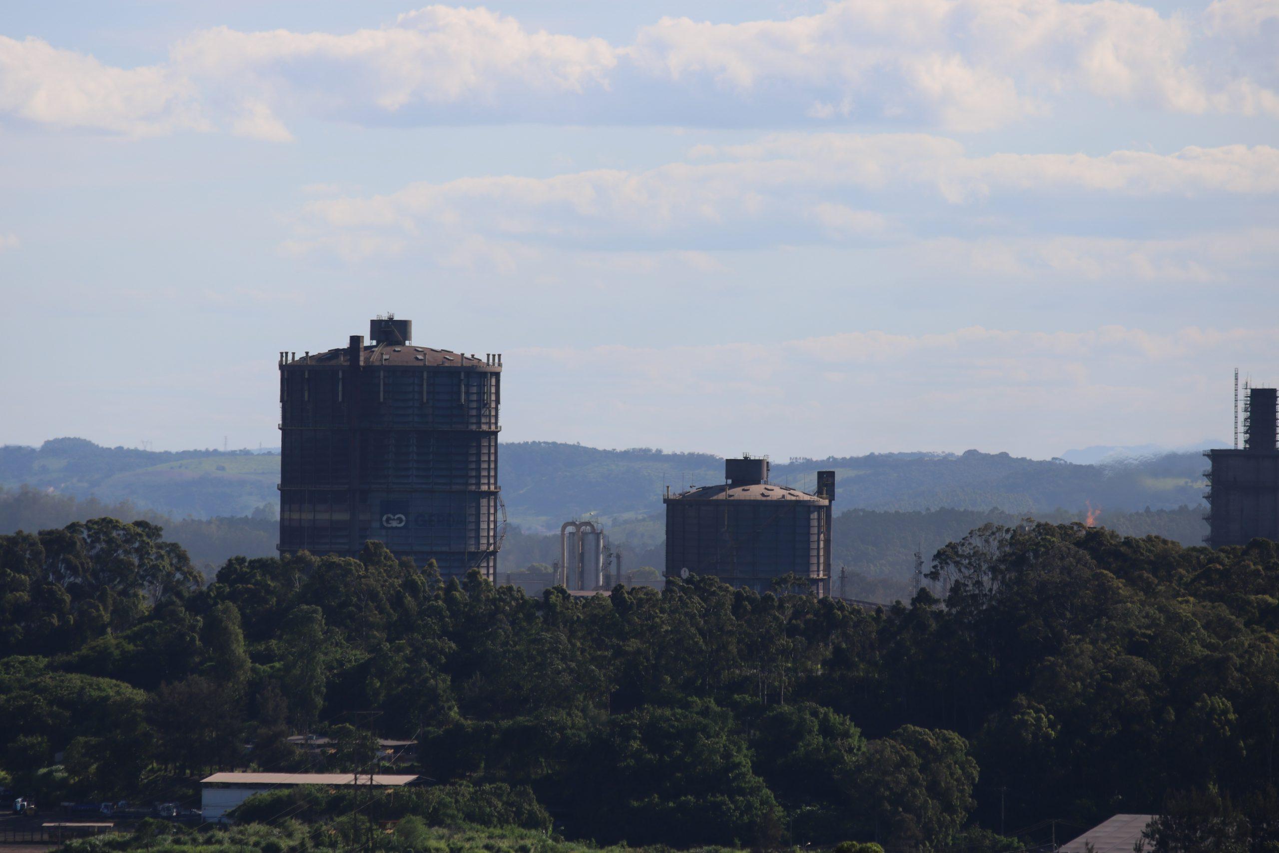 Usina da Gerdau em Ouro Branco - Foto: Mais Minas